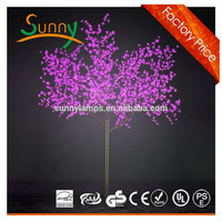 2.5m 1728LEDs garden decoration christmas LED cherry blossom tree light, Led cherry blossom tree