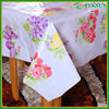 Latest high quality durable family waterproof table cloth