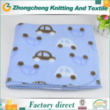 wholesale animal print micro fiber polar fleece printed fabric