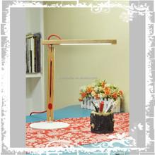 2015 modern european energy saving led table lamp red oak material 10w wood table lamp