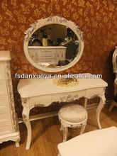 Mahogany Furniture European style home furniture dress table