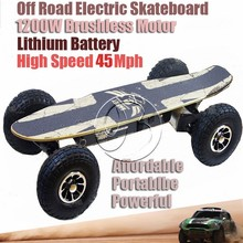 off road fat tire electric skateboard off road