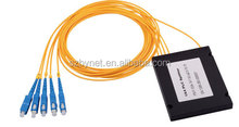1* 4Fiber PLC Splitter ABS box module