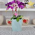 Flor de cerámica florero para la decoración del hogar y accesorios, adornos de artesanía