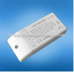 CE UL 12v 24v Triac Dimmable constant current driver led
