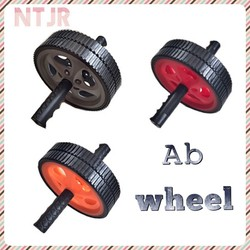 Factory Price double ab wheel, double ab wheel, detachable ab roller