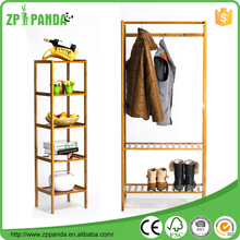 Wooden Children Movable free standing coat rack Living Room Furniture