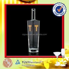 Long neck clear vodka glass bottle price