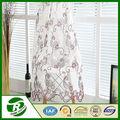 Cortina árabe lujosa y barata, cortina con tul de encaje bordada con diseños mixtos para decorar el interior del hogar