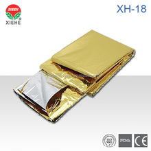 XH-18 Waterproof Foil Silver Mylar Thermall Rescue Emergency Blanket