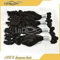 Hair Distributors Wanted Bouncy Curl Temple Fummi Hair In India