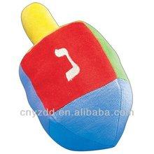 Dreidel Plush Baby Toy/Plush Dreidel for Baby