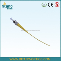 OEM/ODM Factory SM Simplex 2.0mm ST Fiber Ribbon Pigtail with PVC Jacket