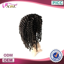 Factory Price Best Quality Hot Selling Afro Kinky Curly Remy Brazilian Human Hair Short Lace Wigs