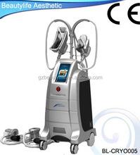2015 new product 4 handles fat freeze cryolipolysis machine