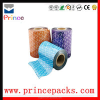 laminated automatic packaging film roll for food packing