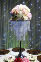 Decoration for wedding tables flowers/acrylic wedding table decoration
