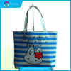New style fashion printing canvas shopping bag with logo