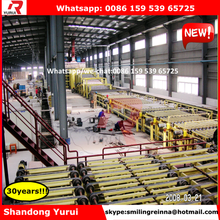 automatic production line of gypsum board wall partition