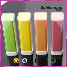 Best selling waterproof 2600mah portable cylinder power bank