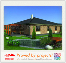 easy and fast installation prefab house for government development and real estate