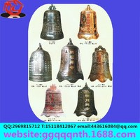 Manufacturers selling metal clock. Bronze. Iron bell. Bronze antique clock factory direct sale bell drum