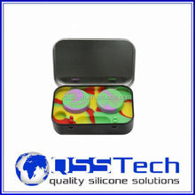 Hot sale cured 3ml silicone case for samsung galaxy mini s5570/ silicone customized bho oil container/ silicone bho container