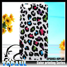 Stylish design beautiful pc leopard print cell phone case for samsung galaxy note