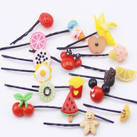 fashion Lovely candy watermelon flower multi color clip hair accessories