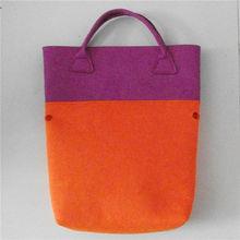 Hot promotion eco friendly product manufacturer felt tote bag