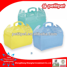 different color small flight cage pet air carrier pet air box