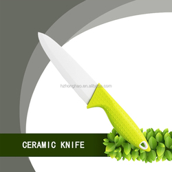 """Environment-friendly 6"""" colorful chef ceramic knife multifunction kitchen knife"""