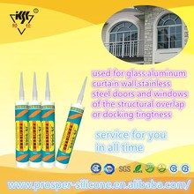 One-Component High-Tensile Strength Good Adhesion To Glass Aluminum Stainless Silicone Sealant