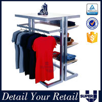 professional supplier of stand for clothes shop, stand display for clothes, mutilfunctional clothes showcase