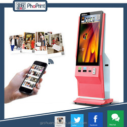 """42"""" inch lcd motion sensor HD floor standing android network LCD advertising player"""