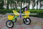 3pcs rodas coloridas fornecedor chinês triciclo para bebê