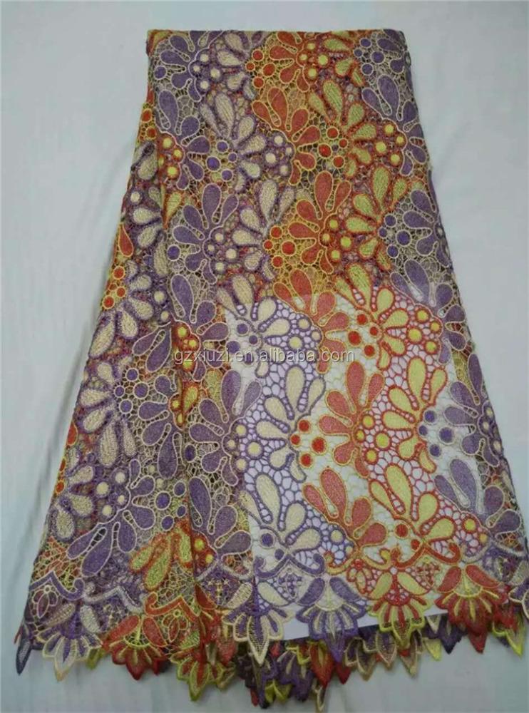 Embroidery bazin fashion krishna style dresses lace fabrics high
