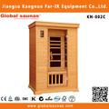 2015 novo design de 2 pessoas canadense hemlock madeira casa kit kn-002c