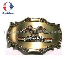 Brass Eagle Logo Belt Buckle