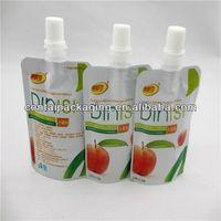 Plastic Spout Pouch/Doypack Nozzle Bag/Stand Up Pouch