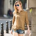 Hjc-c8384 venta al por mayor Veri Gude nuevo resorte de la llegada de la mujer moda flojo ocasional de la blusa