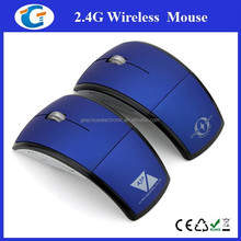 2.4GHz Wireless Foldable Folding Optical Mouse For Microsoft Laptop