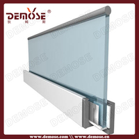 outdoor extruded aluminum u base channel railings