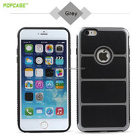 Black Silver Cell Phone Case Cover Colors for apple iphone 6 plus mobile phone