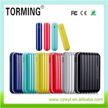 High quality with LED light dual usb luggage box power bank for iphone and samsung