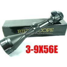 Hunting riflescope 3-9X56 Tactical Mil-Dot Illuminated Rifle Scope Sight For Outdoor War Game Shooting Gun Rifle
