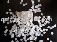 white paper quadrate confetti
