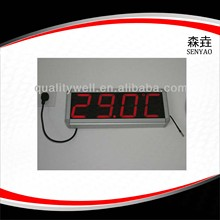 accurate room temperature digital thermometer with plug