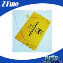 LF+UHF card/HF+UHF Dual Frequency RFID contact Smart Card