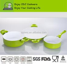 3 pcs Aluminium Frying pan /Sauce pan /Milk pot with Non caking coating